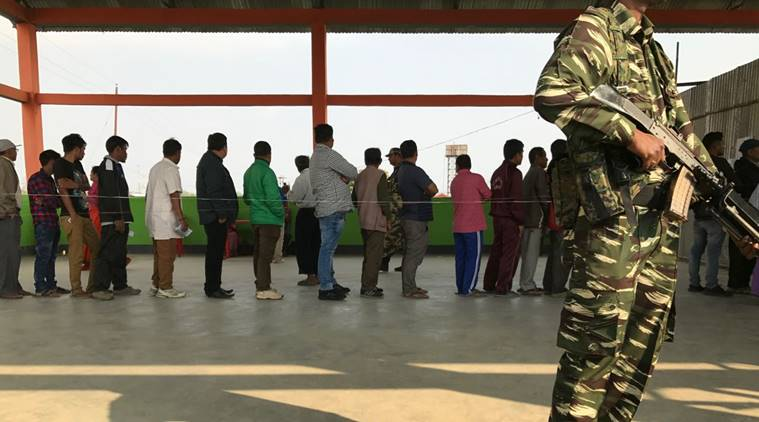 Manipur Assembly Elections 2017, Phase 1: Polling ends